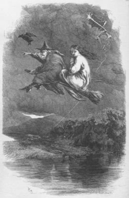 Lancashire Witches Flying